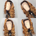Brazilian Lace Front Human Hair Wave Wigs Wave Lady Wig