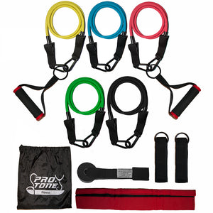Pro-Tone® resistance bands set with handles