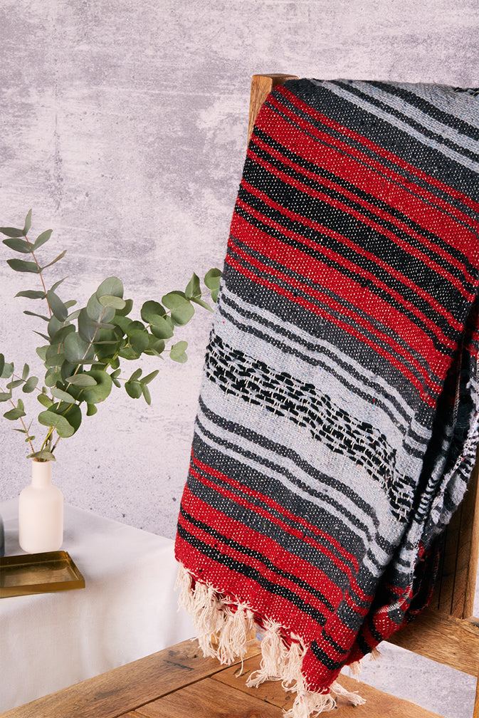 Base-yoga® traditional mexican blanket