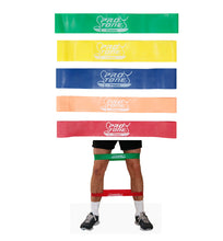 Protone® Resistance bands - fit loops - set of five exercise bands