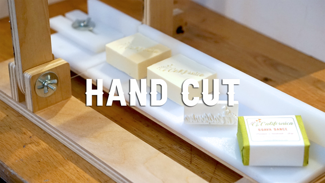 handcut vegan bar soap