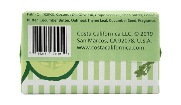 Harmony Garden 4.2 oz Vegan Bar Soap - Costa Californica