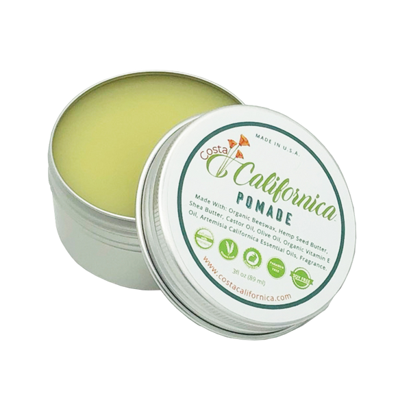 Pomade Hair Fixative and Skin Care 3 oz Can
