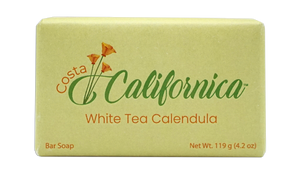 White Tea Calendula 4.2 oz Vegan Bar