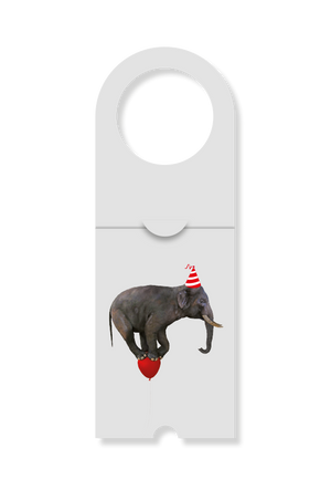 Elephant on balloon - set of 20 cards