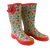 Western Chief Charming Garden Ladies Rain Boot