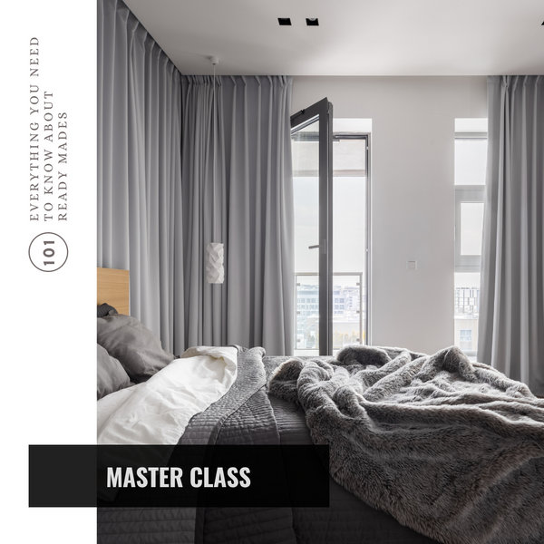 Master Class: Everything you ever needed to know about Ready-Made Curtains
