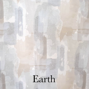 Camo Taped Curtain