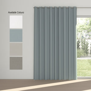 Dusk Eyelet Curtain (100% Blockout)