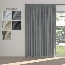 Load image into Gallery viewer, Night Time Taped Curtain (Partial Blockout)