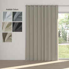 Load image into Gallery viewer, Night Time Eyelet Curtain (Partial Blockout)