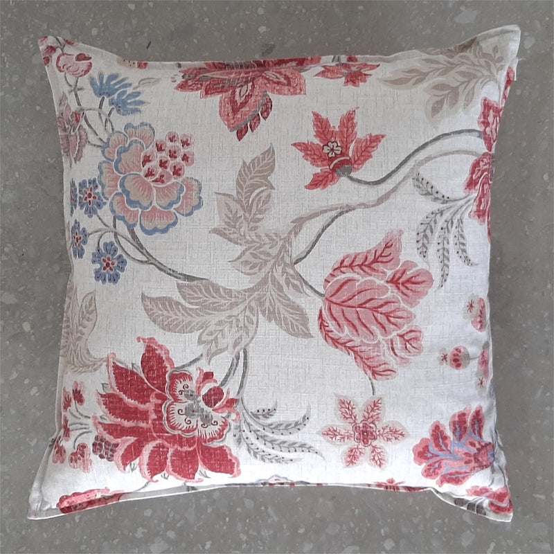 Cushion Cover Enchanting Coral (50cm x 50cm)