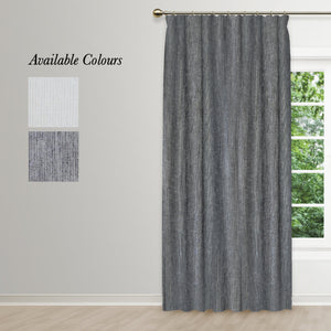 Silhouette Taped Curtain