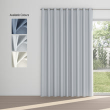 Load image into Gallery viewer, Slumber Eyelet Curtain (100% Blockout)