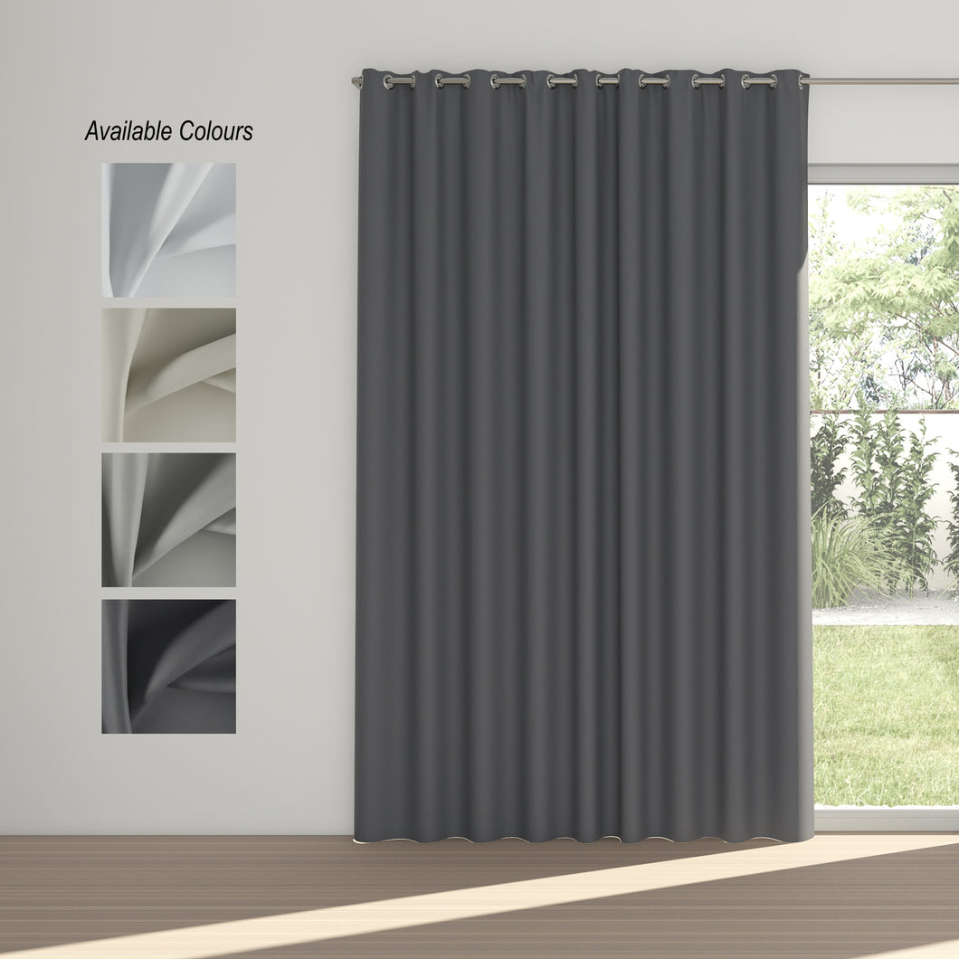 Solarline Eyelet Curtain (100% Blockout)