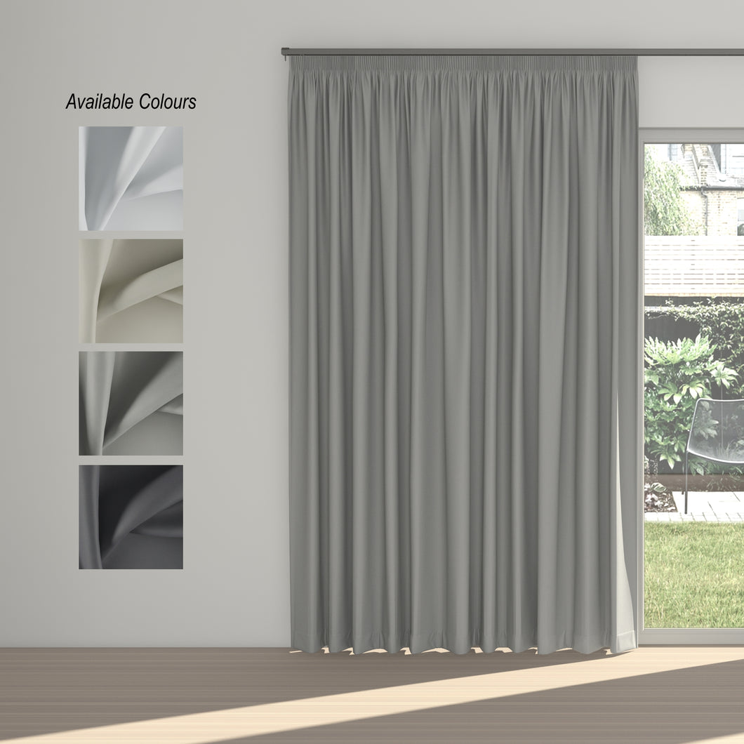 Solarline Taped Curtain (100% Blockout)