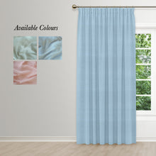 Load image into Gallery viewer, Muslin Taped Curtain