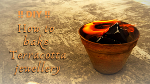 How to bake terracotta Jewellery at home I Terracotta Jewellery Baking Process I