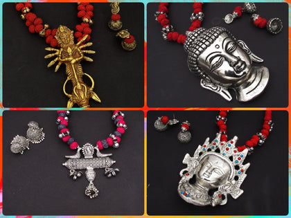 Samreedhi Handicrafts German Silver Jewellery online Shopping