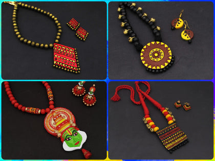 Samreedhi Handicrafts Terracotta Collection online Shopping