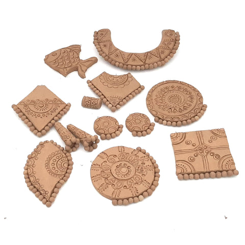 How to make terracotta jewellery ? Step by step guide for ...
