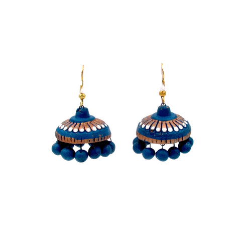 Buy OnlineTerracotta sky Jhumki Jhumka for her - Samreedhi Handicrafts