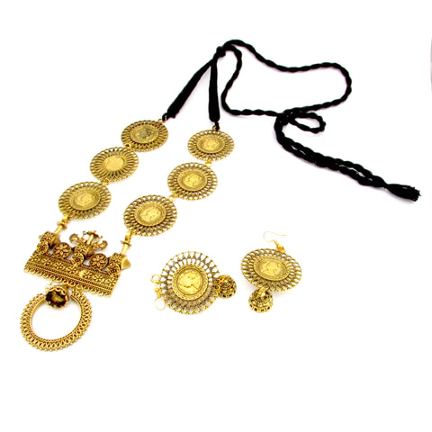 Buy Antique fashionable Jewellery Set 1- Samreedhi Handicrafts
