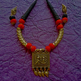 Buy Antique gold color Oxidise Jewelry set - Samreedhi Handicrafts
