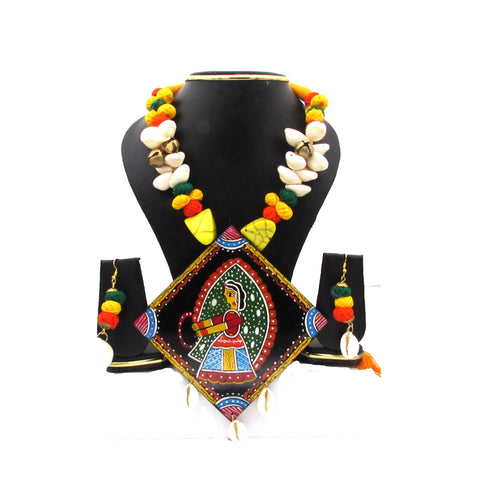 Buy Online Handmade Artistic fashion Jewellery Set for women - Samreedhi Handicrafts