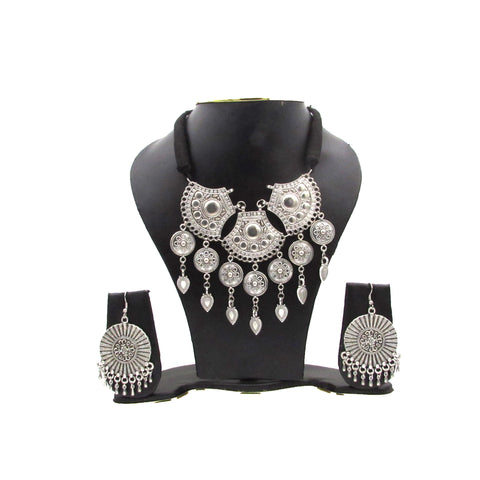 Oxidised Jewellery Set for women