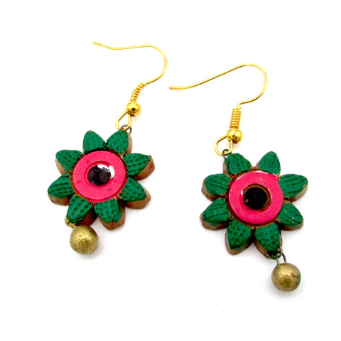 Buy Online Terracotta Earrings Type 3 -Samreedhi Handicrafts