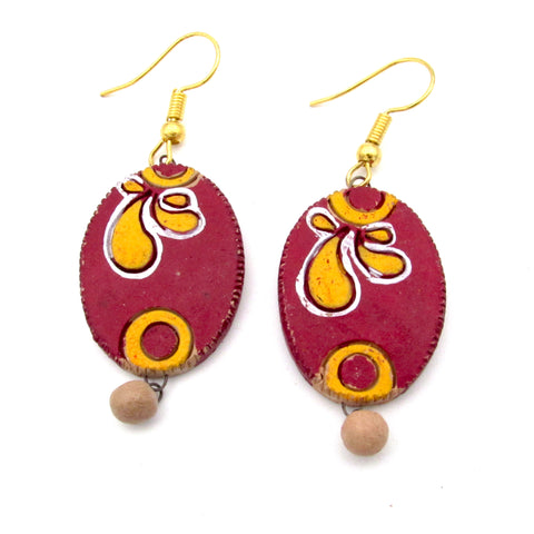 Buy Online Terracotta Earrings Type 4 -Samreedhi Handicrafts
