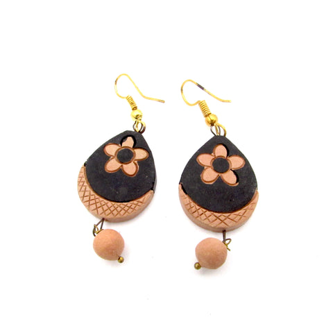 Buy Online Terracotta Earrings Type 5 -Samreedhi Handicrafts