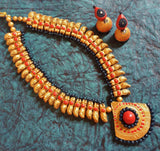 Buy Online Terracotta Jewellery Set - Samreedhi Handicrafts