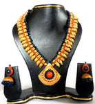 Buy Online Terracotta Jewellery Set 1 - Samreedhi Handicrafts