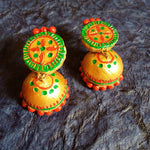 Buy Online Terracotta Jewellery Set  Choker muggapuu Jewels 2- Samreedhi Handicrafts