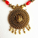 Buy Oxidised Jewellery Necklace for Women with Lord Ganesha Pendant3 - Samreedhi Handicrafts