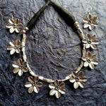 Buy Oxidized Flower Shape Choker Necklace for Women  Oxidised Jewellery Choker2 - Samreedhi Handicrafts