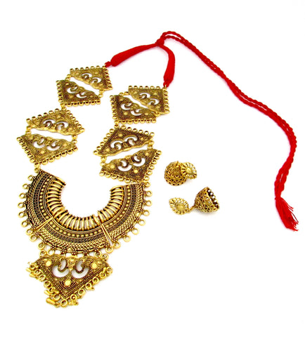 Buy online Antique gold fashion Jewels for her - Samreedhi Handicrafts
