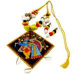 Buy online Fashion Jewellery Set cotton beads necklace for women - Samreedhi Handicrafts