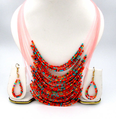 Buy online Fashion Necklace Set with multiple layers - Samreedhi Handicrafts
