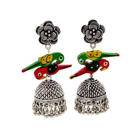 Buy online Oxidised Jhumki  - Samreedhi Handicrafts