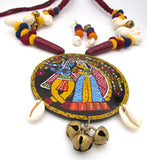 Buy online artistic jewellery set with big pendant 1 - Samreedhi Handicrafts