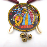 Buy online artistic jewellery set with big pendant 2 - Samreedhi Handicrafts