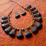 Terracotta Necklace Set Choker