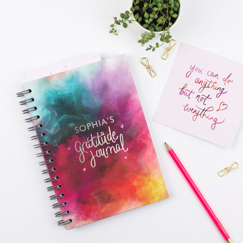 Personalised gratitude journal