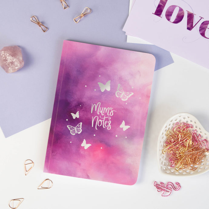 BUTTERFLIES - PERSONALISED SOFTBACK NOTEBOOK
