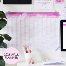 Load image into Gallery viewer, 2021 WALL PLANNER