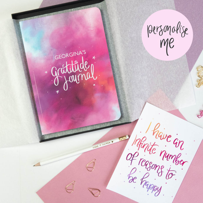 GRATITUDE JOURNAL AND PRINT GIFT SET