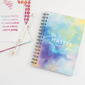 THE MASTER PLAN - LUXE PERSONALISED NOTEBOOK